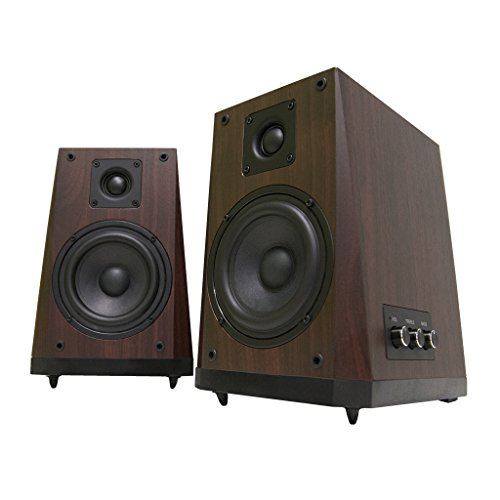 Arion Legacy Ar604H-Br 2.0 Studio Monitor Speakers High Fidelity Extreme Clarity - Cherry Wood, 80 Watts front-683268