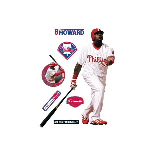 Fathead Ryan Howard Philadelphia Phillies Wall Decal