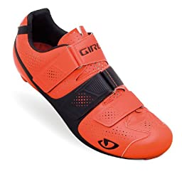 Giro Prolight SLX II Shoes Flourescent Orange/Black, 46.5 - Men\'s