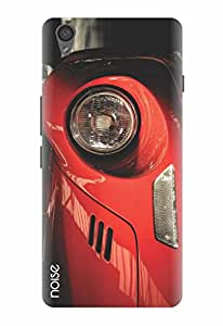 Noise Red Headlight Printed Cover for OnePlus X