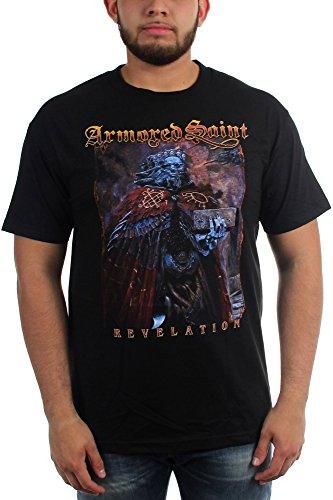 Armored Saint-Revelation-Maglietta da uomo Nero  nero