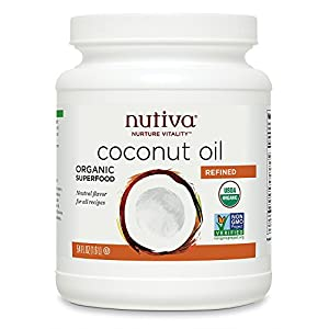 Nutiva - Organic Refined Coconut Oil - 54 oz.