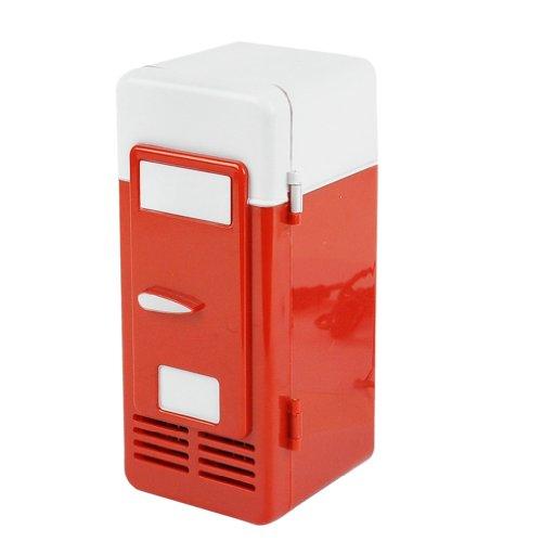 Red Mini Fridge front-597167