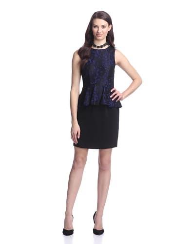 Ali Ro Women's Lace Peplum Dress