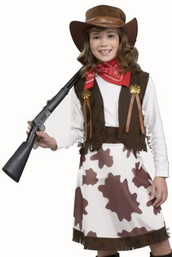 Forum Kids Cowgirl Annie Oakley Western Halloween