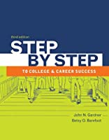 Step by Step to College and Career Success Front Cover