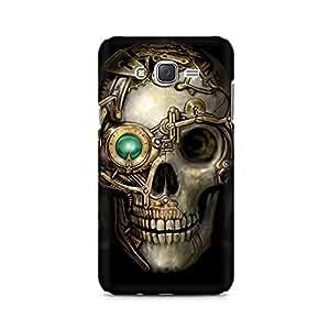 Mobicture Man Illustrated Premium Designer Mobile Back Case Cover For Samsung J7