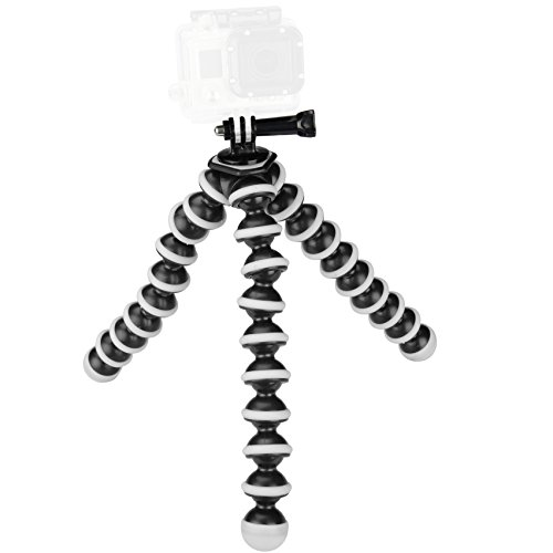 Sabrent-Flexible-Tripod-for-standard-Tripod-mount-GoPro-mount-adapter-included-GP-TRPD