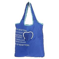 (ユナイテッドカラーズオブベネトン) UNITED COLORS OF BENETTON ポケッタブルエコバッグ ハート(日本限定) ブルー FREE