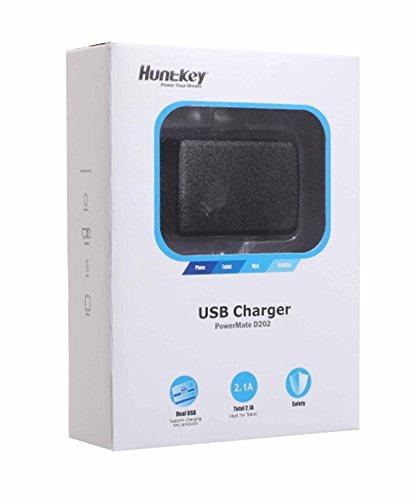 HuntKey Powermate D202 Dual USB Wall Adapter