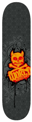 "World Industries Pro Series 31"" X 7.5"" Skateboard-Crest #141794"