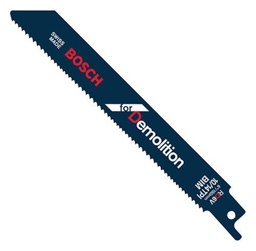Bosch Rd6V 6-Inch 10/14T Demolition Reciprocating Saw Blades - 5 Pack