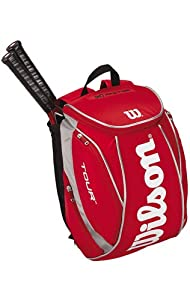 wilson k tour xl backpack rouge sac a dos de tennis. Black Bedroom Furniture Sets. Home Design Ideas