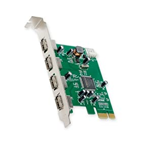 PCIe MOSCHIP Chipset USB 2.0, 4x Internal Ports, MCS9990CV