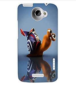 ColourCraft Cartoon Design Back Case Cover for HTC ONE X