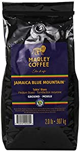 Marley Coffee Ground Coffee, Talking Blues Jamaica Blue Mountain, 2 Pound