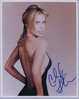 Cheryl Hines Signed Curb Your Enthusiasm Suburgatory Waitress Rv 8X10 Photo F
