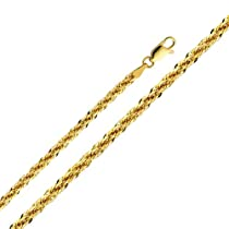 14K Yellow Gold Swivel Lobster Claw Clasp 6 MM