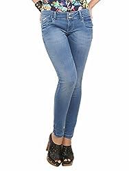 Women's Skinny Jeans (Marine, 26)