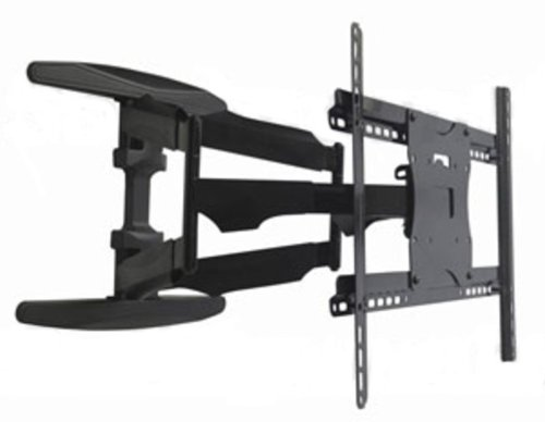 """42""""- 65"""" Articulating Low Profile Wall Mount Bracket For Led Lcd Plasma Tv, Angle Free Adjustable Tilt And Swivel, Up To 21 Inch Long Arm, Max. 125 Lbs"""
