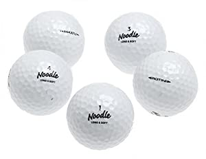 Maxfli Noodle Recycled Golf Balls, 36 pack by Maxfli