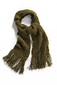 Tabask Solid Boucle Alpaca Scarf