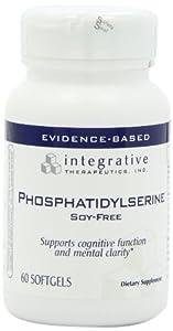 Integrative Therapeutics Phosphatidylserine Soy Free Softgels, 60 Count