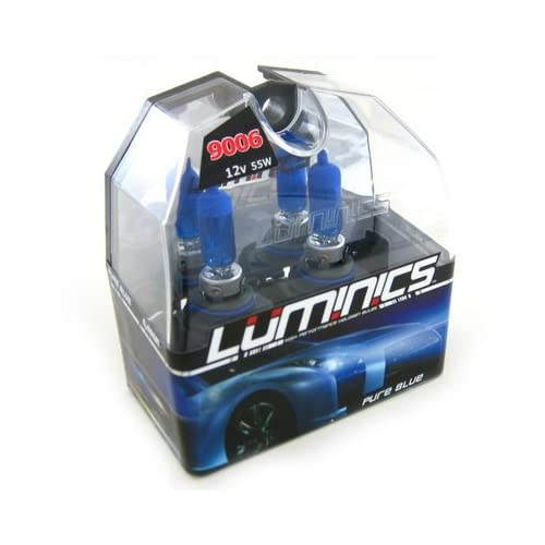 Amazon.com: Luminics Pure Blue 9006 / HB4 Car Headlight Bulb 6000K and