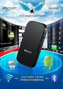 Gmate Plus Outil Dual Sim Bluetooth - 2 lignes actives dans un téléphone ANDROID et IOS (Apple)