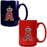MLB Los Angeles Angels Two Piece Ceramic Mug Set -