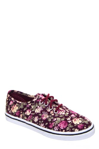 Kids' Authentic Lo Pro Floral Sneaker