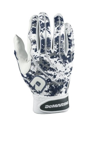 DeMarini Digi Camo Batting Glove, Navy, Large (Blue Batting Gloves compare prices)
