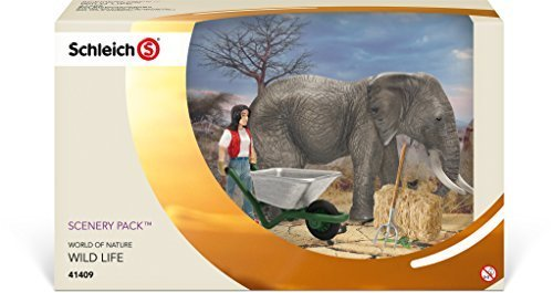 Schleich Elephant Care Set by Schleich