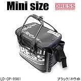 ドレス(DRESS) オリジナルバッカンmini LD-OP-0961 ブラック/ホワイト