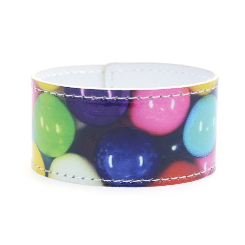Dylan's Candy Bar Faux Leather Bracelet - Gumballs