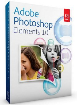 Photoshop Elements 10 windows Italian Retail MB