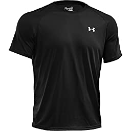 Under Armour Men\'s Tech Short Sleeve T-Shirt, Black (001), X-Large