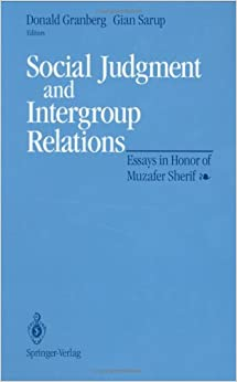 Essay honor in intergroup judgment muzafer relations sherif social