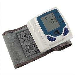Qooltek New Digital Wrist Blood Pressure Monitor & Heart Beat Meter