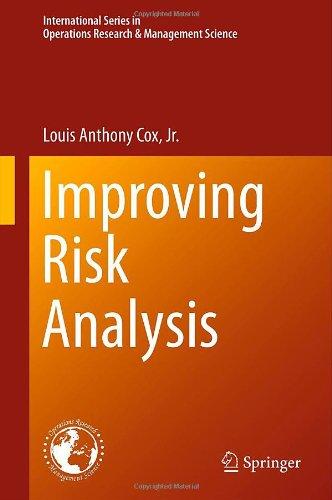 Improving Risk Analysis (International Series