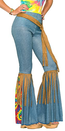 Forum Novelties Women's Hippie Costume Bell Bottoms