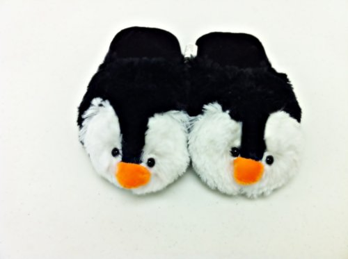 Cute Names For A Penguin Pillow Pet : SMALL PENGUIN ANIMAL SLIPPERS PILLOW PET