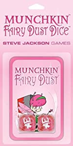 Munchkin Fairy Dust Dice Card Game