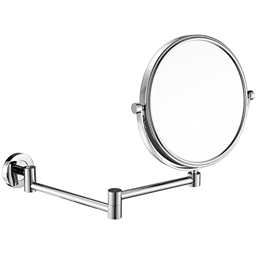 gurun-8-inch-two-sided-swivel-wall-mounted-mirror-with-10x-magnification-chrome-finish-m13058in10x
