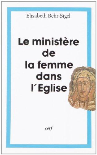 Le Ministère de la femme dans l'Eglise