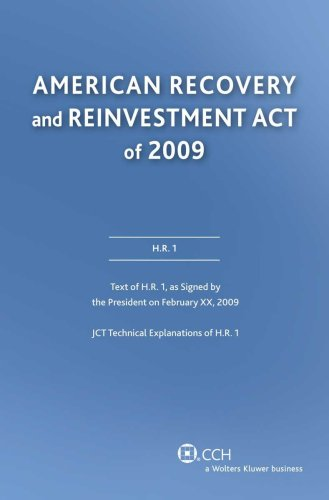 American Recovery And Reinvestment Act Of 2009: Conference Report