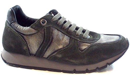 Voile Blanche Scarpe Sneaker Donna Woman shoe Jenna Velour Delave 0012008554.03.9111 Militare/Grigio,40