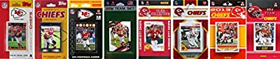 NFL Kansas City Chiefs Licensed Trading Card Team Set
