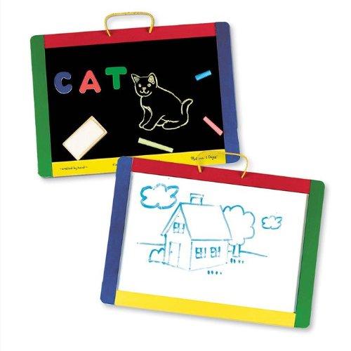 Melissa & Doug Toys - Magnetic Chalkboard/Dry-Erase Board