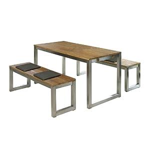 1 rabatt brema gartenm bel set eco box linea 13 teilig indoor alu mindi inkl 2x. Black Bedroom Furniture Sets. Home Design Ideas